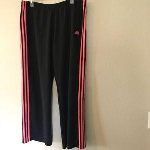 Adidas sweatpants Large Active Pants Pink Black